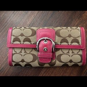 Coach Bags - Coach Purse Authentic Wallet Set